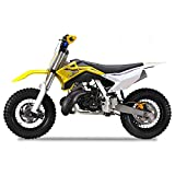 Pitbike Motocicletta da Motocross 50cc Lem Motor A10 Giallo