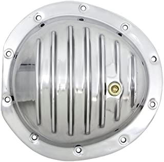 1978-91 Compatible/Replacement for Chevy/GMC Truck Polished Aluminum Front Differential Cover - 10 Bolt w/ 8.5