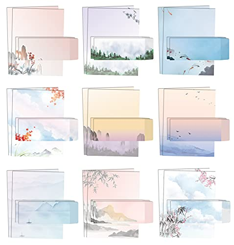 Japanese Watercolor Stationery P...