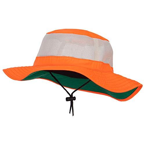 e4Hats.com Big Size Safety Boonie Hat (XL-2XL, Neon Orange)