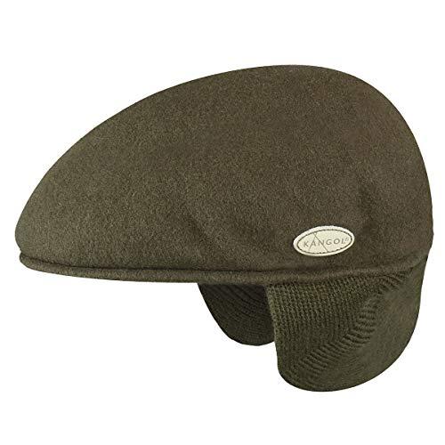 Kangol Wool 504 Earlap Sombrero, Camo, Medium para Hombre