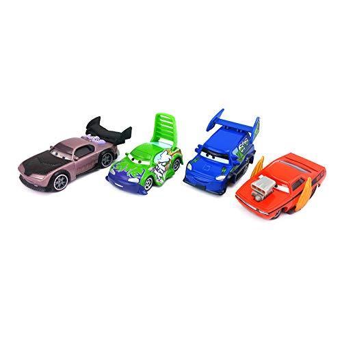 Disney Disney Pixar Cars Snot Rod & DJ & Boost & Wingo Metal Diecast Toy Car 1:55 Loose In Stock &
