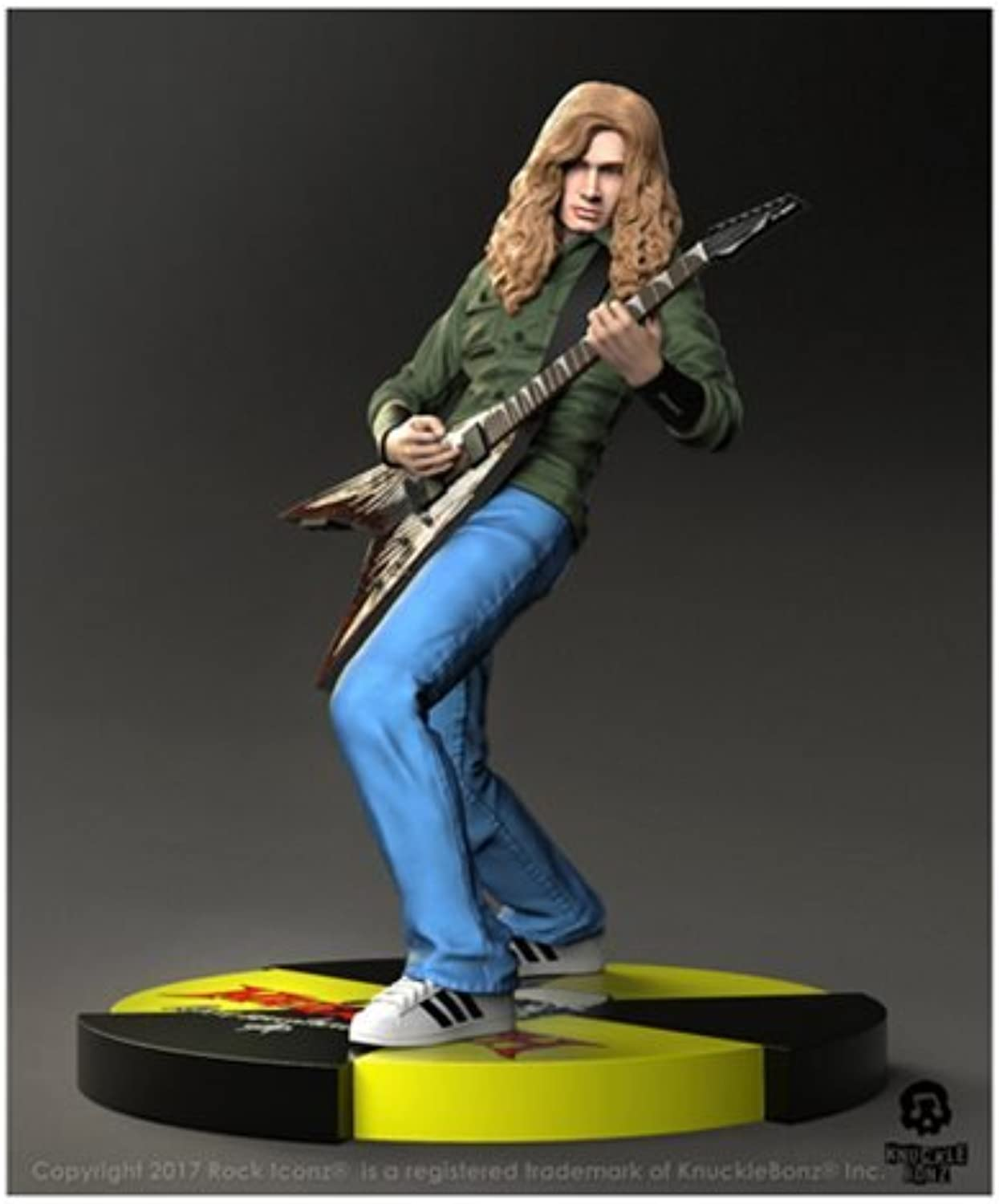 Megadeth Dave Mustaine Statue Standard