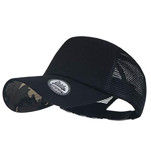 Flexfit Tartan Baseball Cap L//XL Nero Grigio