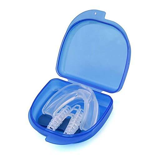 Funien Protector bucal, Protector bucal para rechinar los Dientes 4CPS Juego de dilatadores nasales antirronquidos Dispositivos de solución antirronquidos Ayuda para Dejar de roncar Ayuda para Dormir