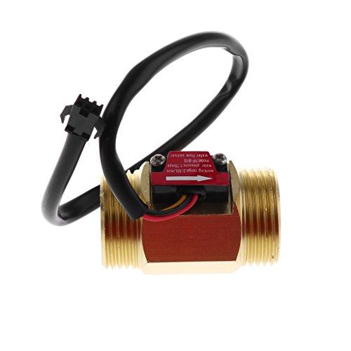 G1 Zoll Flüssigkeit Wasser Durchflusssensor Schalter als Durchflussschalter Durchflussmesser 2-50L / MIN