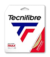 テクニファイバー 2020 TRIAX トライアックス 12M 硬式テニス マルチフィラメントガット 01GTR ゲージ:15(1.38mm) ナチュラル