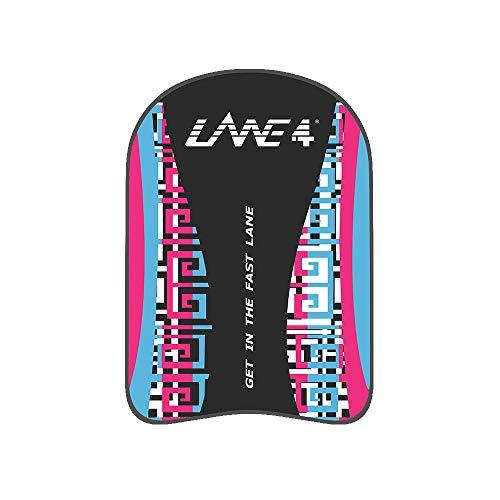 Lane4 Schwimm-Kickboard, klassisches Wasser-Trainingshilfe, EVA, schwimmende Boje, chlorbeständig für Erwachsene, Herren, Damen, (Rosa/Blau)