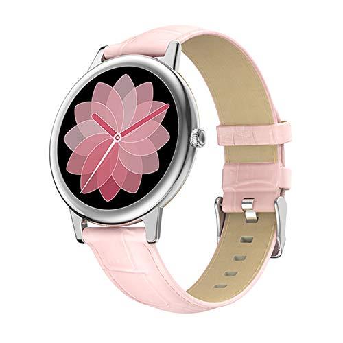 JXFF 2021 New E10 Smart Watch Ladies Pantalla Táctil Completa Bluetooth IP68 Impermeable Rastreador Deportivo Ritmo Cardíaco Presión Arterial Reloj Deportivo De Aptitud para Android iOS,C