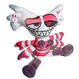 FHSMRING 10Inch 25cm Anime Figure Angel Dust Plush Toys Soft Stuffed Animal Dolls plushies