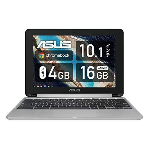 ASUS Chromebook Flip C101PA シルバー 10.1型ノートPC【日本正規代理店品】CP1 Hexa-core/4GB/eMMC16GB/C1...