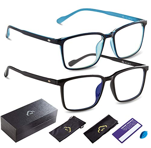 Anti Blue Light Ray Blocking Filter Glasses for TV Computer Gaming Men and Women