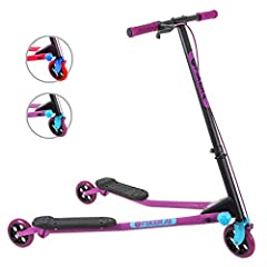 The original Y Fliker - Yvolution is the original flicker company that has become the standard by which all self-propelled scooters are measured. The Fliker A3 is our Elite scooter in the air range, designed for drifting, carving and freestyle riding...