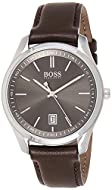 Hugo Boss Men's Analogue Quartz Watch with Leather Strap 1513726