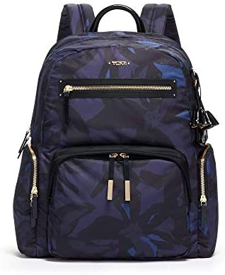 TUMI Voyageur Carson Laptop Backpack 15 Inch Computer Bag for Women Lily Indigo product image