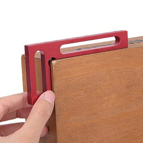 Yosoo 直角定規 コーナークランプ クランプ L形 90度直角 陽極酸化 額縁 木工ハンドツール