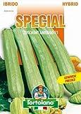 Sementi di ortaggi ibride e selezioni speciali ad uso amatoriale in buste termosaldate (80 varietà) (ZUCCHINO AMERIGO F1)