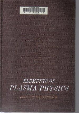 Elements of Plasma Physics