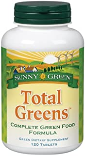 Sunny Green Total Greens, 120 Tablets
