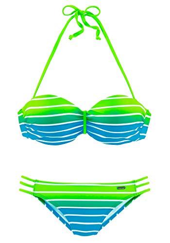 Venice Beach Damen Bügel-Bandeau-Bikini