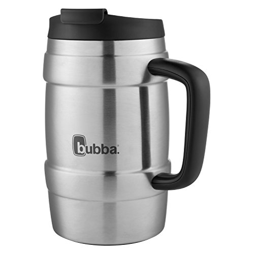 bubba Keg Vacuum-Insulated Stainless Steel Travel Mug, 34 oz., Black
