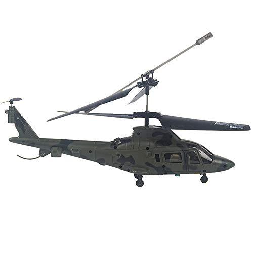 AORED Modelo de aviación controlable Quadcopter Control Remoto Avión Niño Control Remoto Helicóptero 3.5 Canales Mini Control Remoto eléctrico Resistencia a la aeronave Que Cae (Color : A)