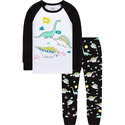 Boys Truck Pajamas Christmas Kids Cotton Pjs Ch...