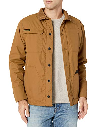 Caterpillar Men's Fenceline Chore Coat, Bronze, L
