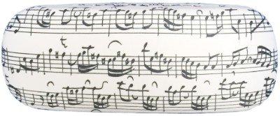 Glazen doos Bladmuziek wit