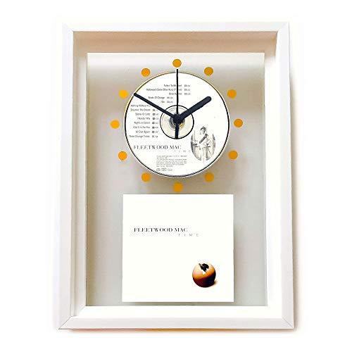 FLEETWOOD MAC - Time: GERAHMTE CD-WANDUHR/Exklusives Design