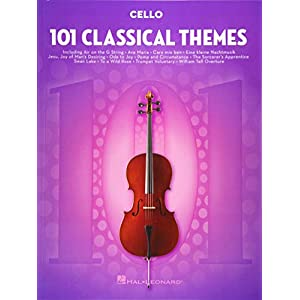 101 Classical Themes -For Cello- (Book): Noten, Sammelband für Cello