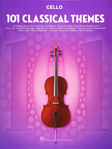 101 Classical Themes -For Cello- (Book): Noten, Sammelband für Cello