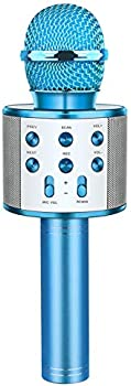 Fricon Portable Bluetooth Wireless Microphone with Speaker