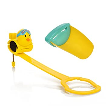 Aqueduck Faucet Handle Extender Set Connects to Sink Handle and Faucet to Make Washing Hands Fun and Teaches Your Baby or Child Good Habits and Promote Independence to Them.