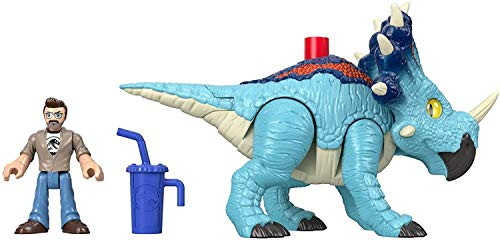 Imaginext- Jurassic World Dinosaurio de Juguete niñas +3 años (Mattel GMR17)