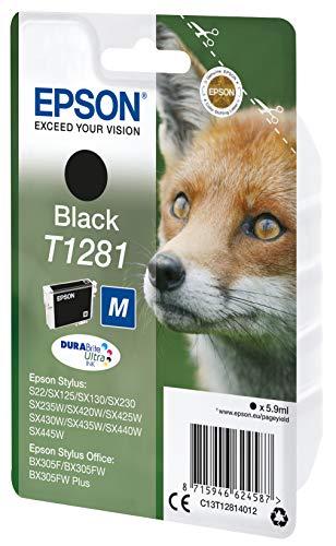 Epson C13T12814012 - Cartucho de tinta, negro, Ya disponible en Amazon Dash Replenishment