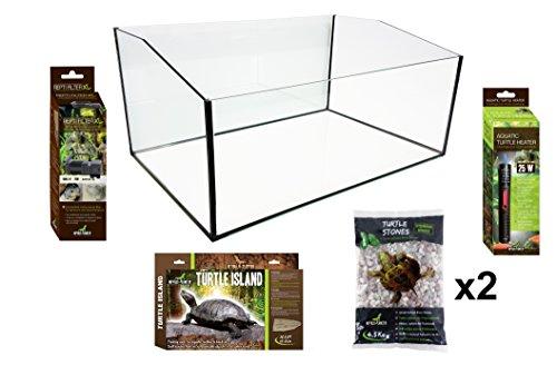 Reptiles Planet Kit Terrarium voor SCHILDKROOTEN 80 x 45 x 30 cm