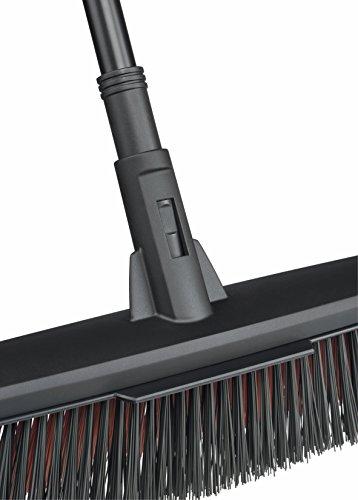 Fiskars Solid Allzweckbesen mit PowerClean-Borsten, Länge: 1,7 m, L, Schwarz/Orange, 1025926 - 10