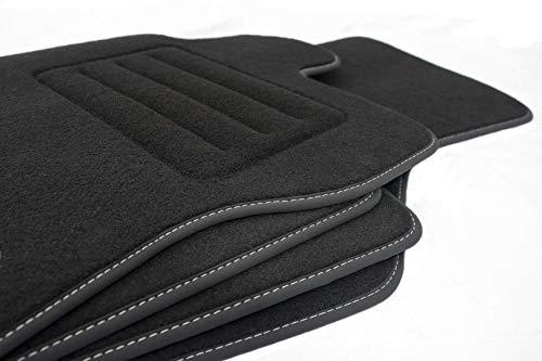 Motohobby Velour Fußmatten Satz für Mazda CX-3 (ab 2015) - Premium Qualität - 4-teilig - Passgenau