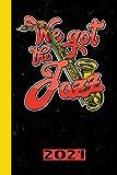 We Got The Jazz 2021: Italiano. Calendario per il 2021 con 53 pagine. Una pagina alla settimana per incontrare date importanti o date di concerti per la vostra band musicale preferita.