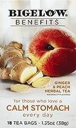 Bigelow Tea Ginger & Peach, 18 ct