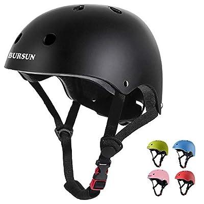 BURSUN Kids Bike Helmet CPSC Certified Ventilation & Adjustable Toddler Helmet for Ages 3-8 Kids Boys Girls Multi-Sport Helmet