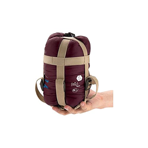 Naturehike Burgundy Sleeping Bag Ultralight Adult Portable Outdoor Camping Hiking Sleeping Bags Spring Autumn 1.90.75m