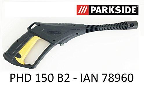 Parkside hogedrukreiniger spuitpistool PHD 150 B2 - LIDL IAN 78960 met schroefdraadaansluiting en trigger met kinderbeveiliging tot 150 bar