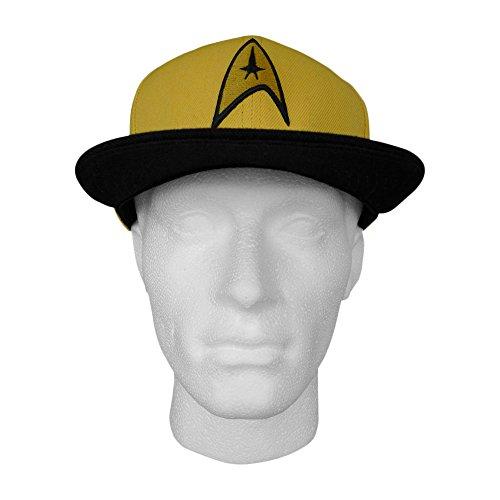 Star Trek - Casquette baseball Logo jaune