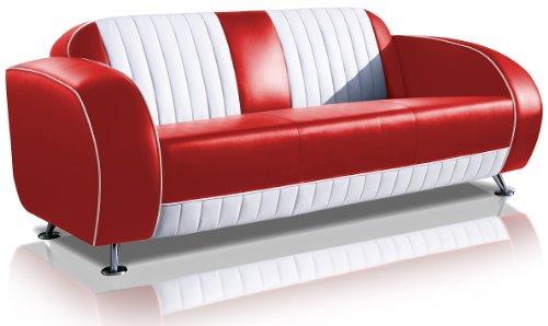 Bel Air Sofá Diner sofá Retro Style sofá Lounge Diseñador Sofá Muebles de Espera