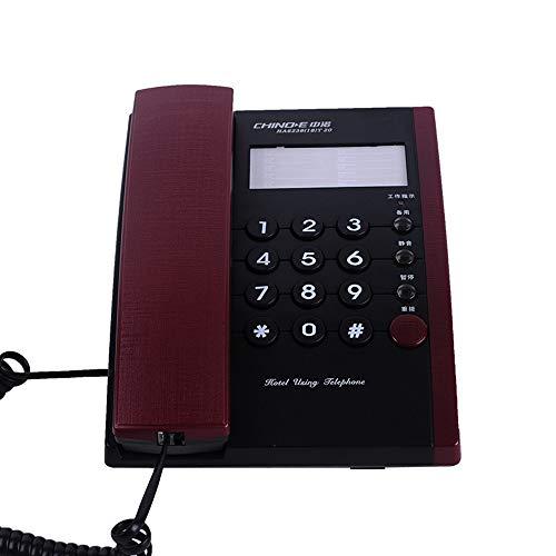 Téléphone Fixe Fixe Filaire à Domicile, Pas d'affichage