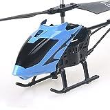 JINFENFG Helicóptero de Control Remoto Resistente a caídas Dron de hélice única Avión RC Avión de Juguete Recargable Modelo de avión Sistema de Giro de avión Luces Frescas Los Mejores cump