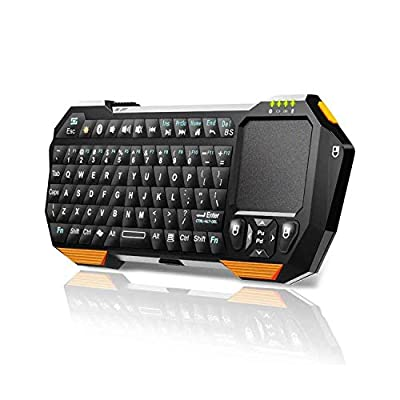 Mini Wireless Keyboard with Touchpad for Smart TV Projector Compatible with Android iOS Windows from Seenda
