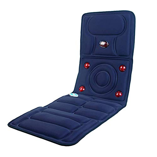 Tapis De Massage Massage Complet Du Corps Thermothérapie À Dos Plat Et Coussin De Siège D'auto Meilleurs Cadeaux Pour Les Hommes/Mari